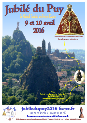 Jubilé du Grand Pardon de Notre Dame du Puy