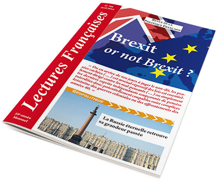 N° 708 – AVRIL 2016 : BREXIT OR NOT BREXIT ?
