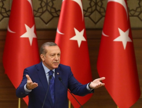 Erdogan veut museler l'Europe