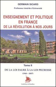 Dans son importante étude, Germain Sicard montre l'évolution politique de ce syndicat étudiant, notamment depuis la période de l'Occupation jusqu'à mai 1968