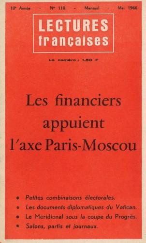 Lectures Françaises N° 110