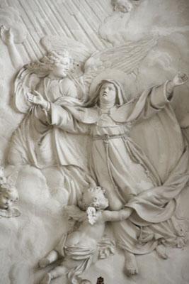 Sainte Colette au dessus autel (Eglise Sainte Colette de Corbie) (2)