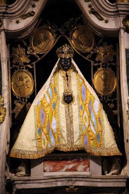Vierge Noir Cathédrale du Puy