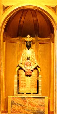 Vierge Noir du Puy Cathédrale du Puy