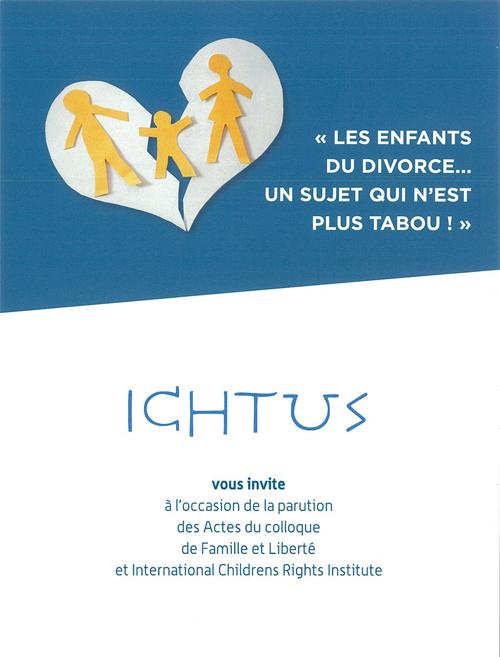 Les enfants du divorce: un sujet qui n'est plus tabou!