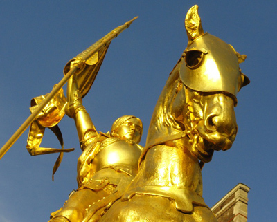 Sainte Jeanne d'Arc et le nationalisme athée…