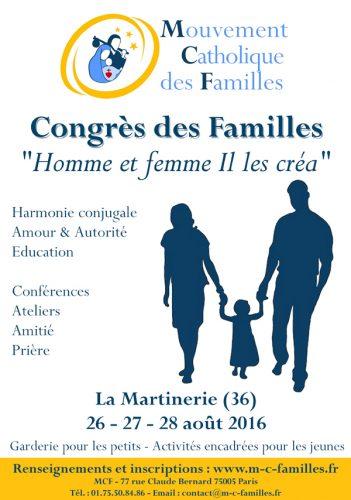 Congrès des familles 2016