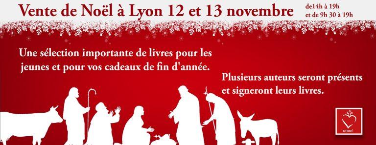 Vente de Noël «Chiré-DPF» les 12 et 13 novembre 2016 à Lyon