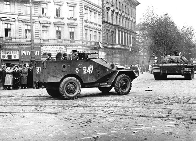 Budapest 1956: l'honneur de la jeunesse