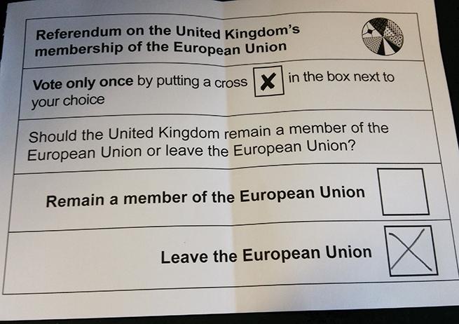 Les leçons du Brexit
