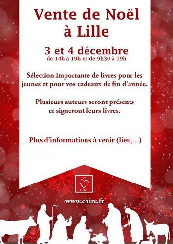 Vente de Noël «Chiré-DPF» le 4 décembre 2016 à Lille