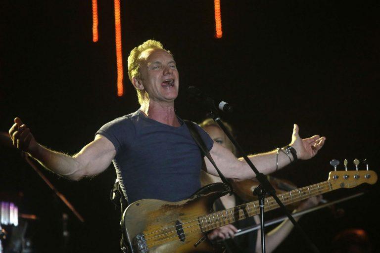 Bataclan : Sting, hommage de la décadence à l'imbécilité
