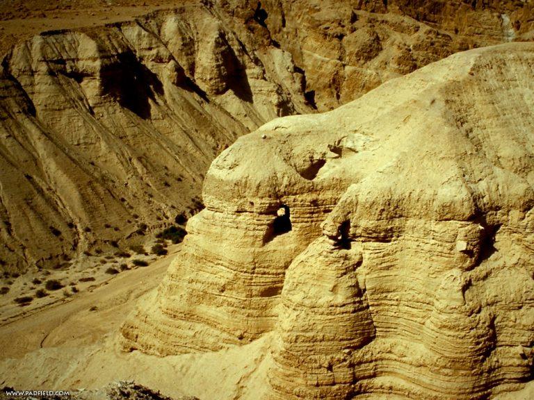 Mer Morte : une nouvelle grotte découverte à Qumrân !