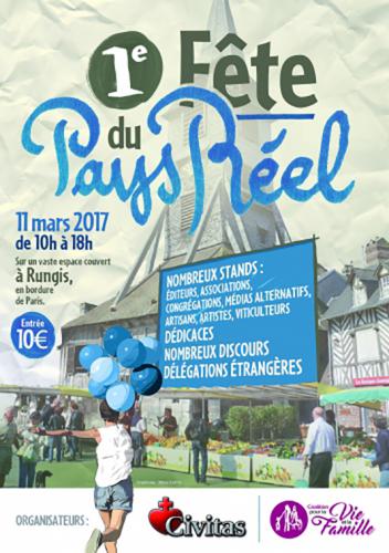 1ère Fête du Pays Réel le 11 mars à Rungis