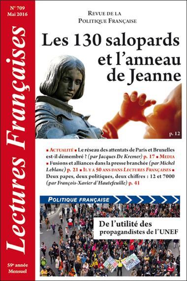 N° 709 – Mai 2016 : Les 130 salopards et l'anneau de Jeanne