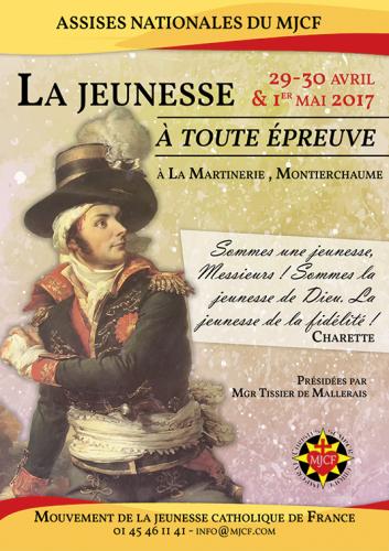 Assises nationales du MJCF 2017 (29-30 avril – 1<sup>er</sup> mai)