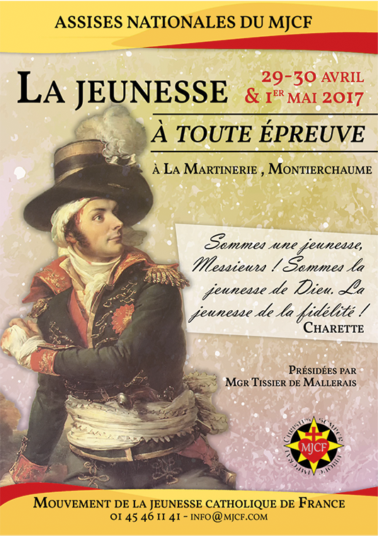 Assises nationales du MJCF 2017 (29-30 avril – 1<sup>er</sup> mai)