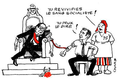 Hollande directeur de campagne de Macron