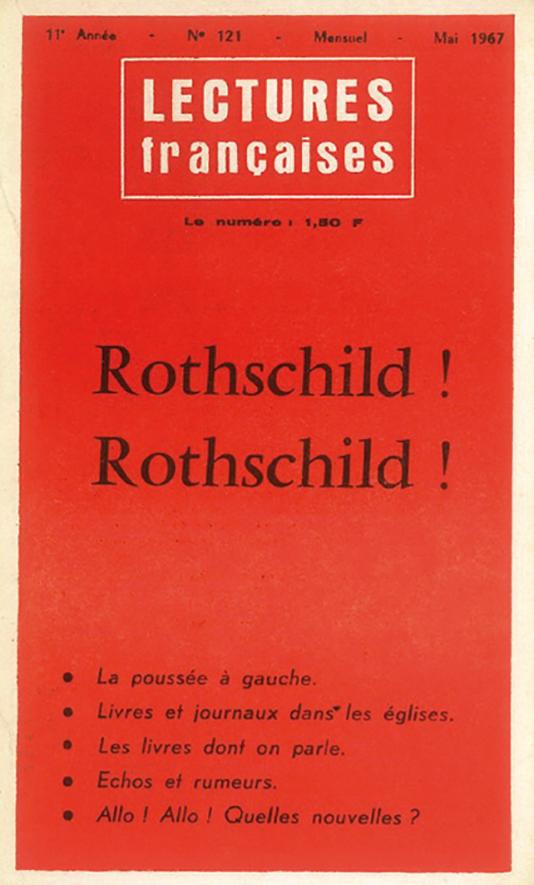 Rothschild! Rothschild!(N° 121 de mai 1967)