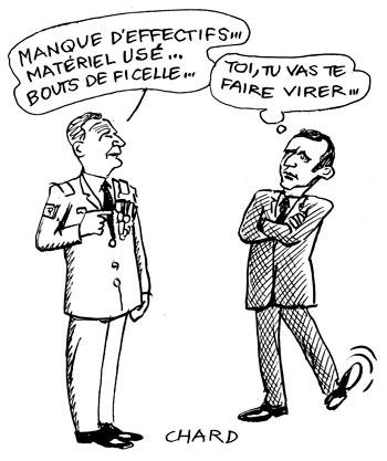 Villiers défie Macron
