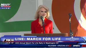 Discours de Kellyane Conway à la Marche pour la Vie 2017, Washington DC.