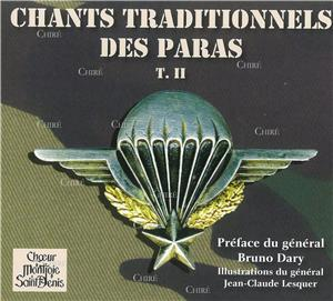 Choeur Montjoie Saint Denis-chants-traditionnels-des-paras-t--ii-cd