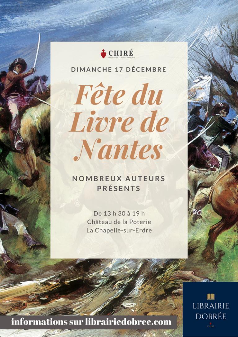 17 décembre 2017 : 5ème Grande Fête du Livre de Nantes