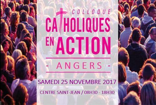 Colloque Ichtus le samedi 25 novembre à Angers, «Catholiques en actions»