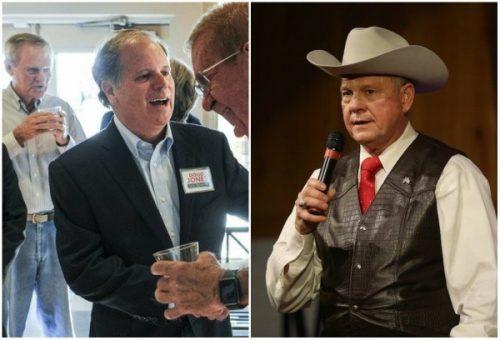 Alabama Doug Jones Roy Moore