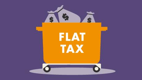 La flat tax: un impôt trop simple pour la France!