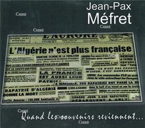 Jean-Pax Mefret-quand-les-souvenirs-reviennent-cd