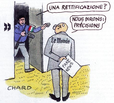 Berlusconi et la Mafia, les « fake news » du Monde