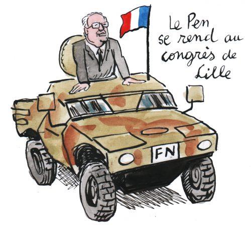 Jean-Marie Le Pen gagne un nouveau procès contre la direction du FN