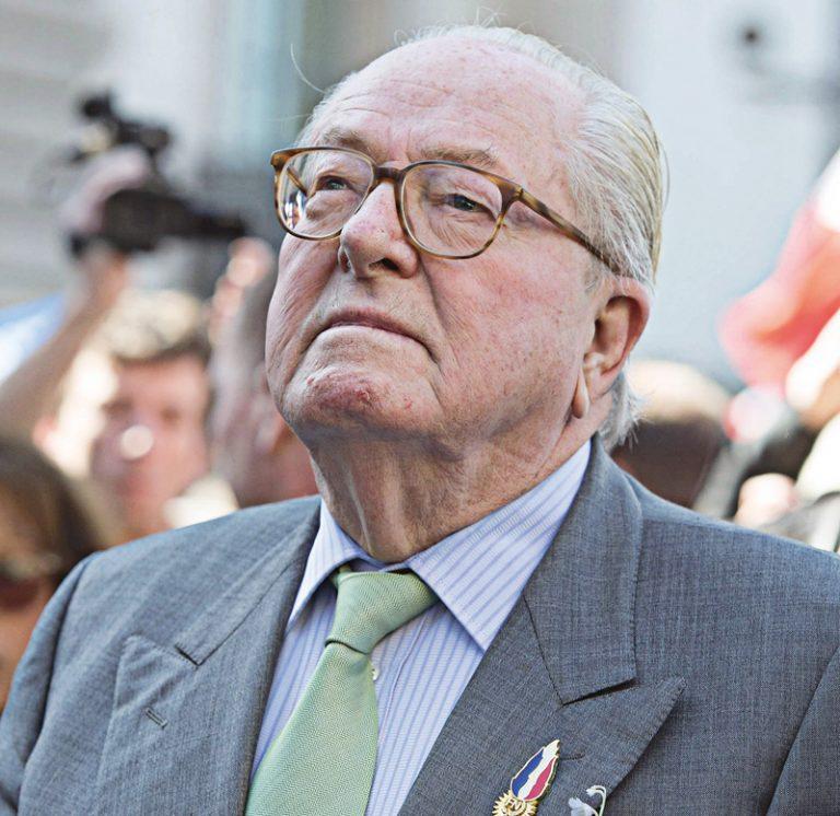 Jean-Marie Le Pen : «La violente amour que j'ai pour la France… »