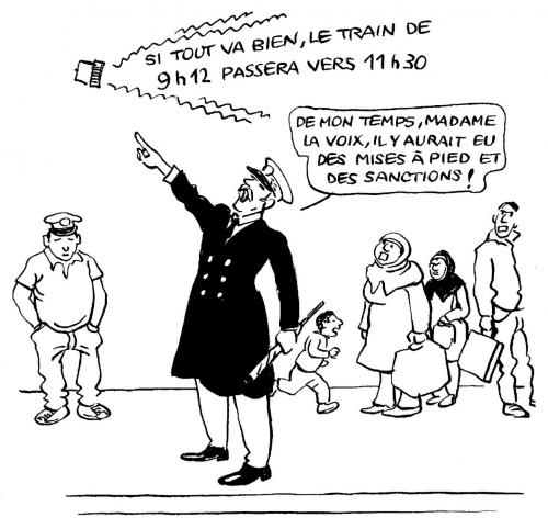 SNCF: le pouvoir de pantoufler