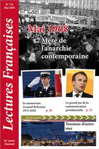 Éditorial, mai 2018 : Mai 1968, Mère de l'anarchie contemporaine