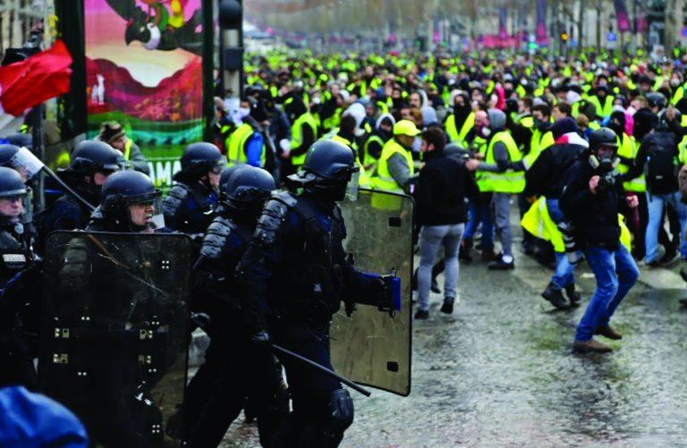 Éditorial, janvier 2019: Macron et le «péril jaune»
