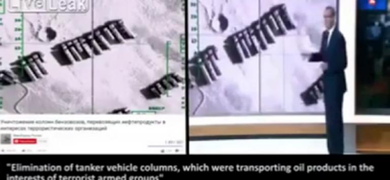 Frappes Russes : manipulation médiatique de la part de France 2