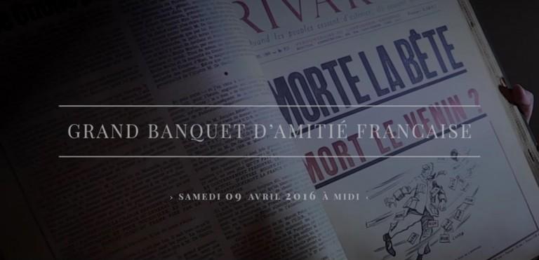 Banquet de RIVAROL : un grand succès pour ses 65 ans
