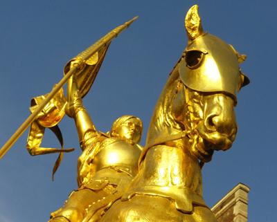 Sainte Jeanne d'Arc et le nationalisme athée…