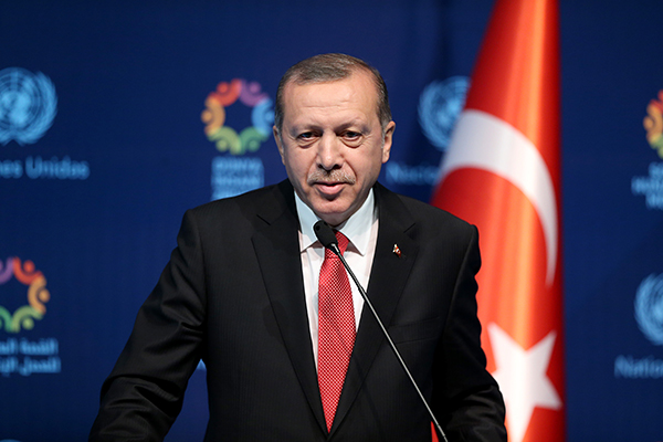 Erdogan et le coup d'État de juillet