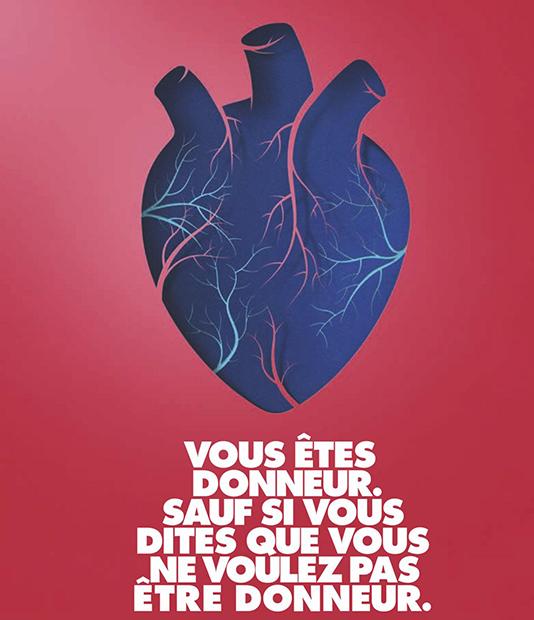 À propos du don d'organes