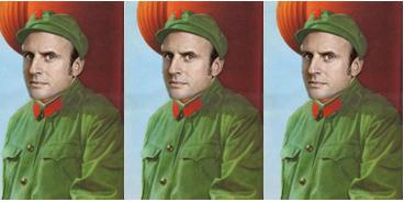 Emmanuel Macron résonne, comme un vide
