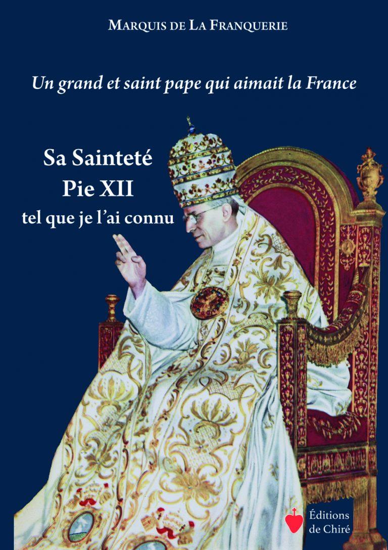 Un grand et saint pape qui aimait la France