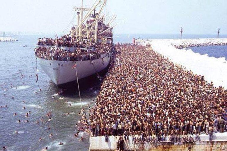 Les « migrants font leur marché »
