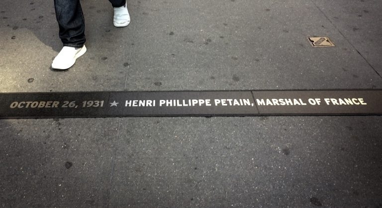 Le Maréchal Pétain à New York !