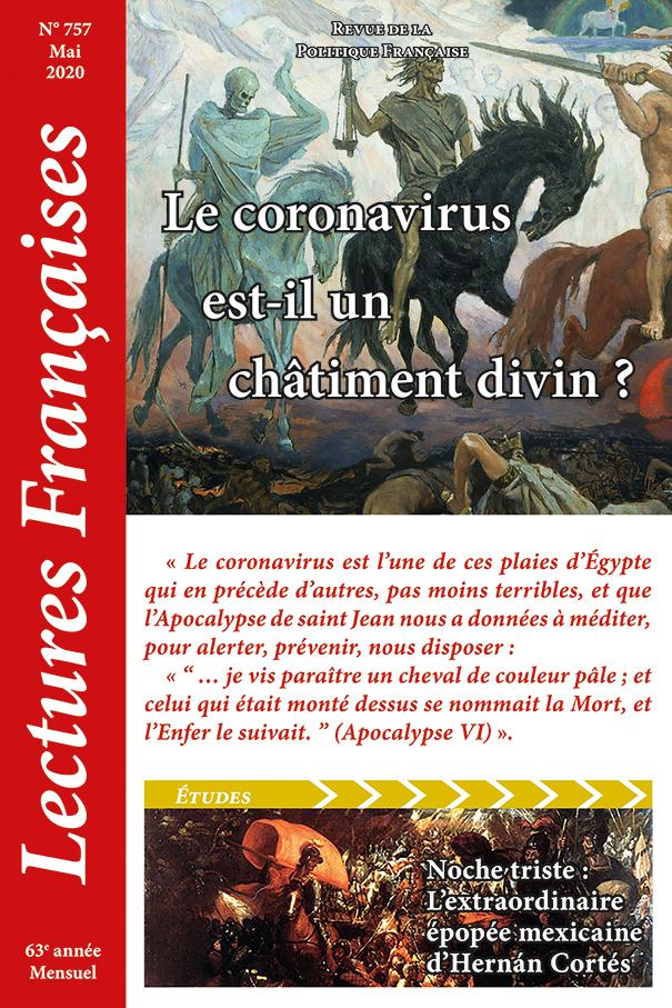 N° 757 - Mai 2020 : Le coronavirus est-il un châtiment divin ?