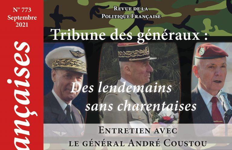 Lectures Françaises nouvelle formule, N°773, septembre 2021: L'éditorial