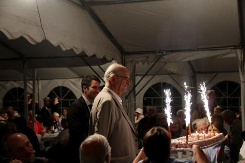 bougies anniversaire banquet